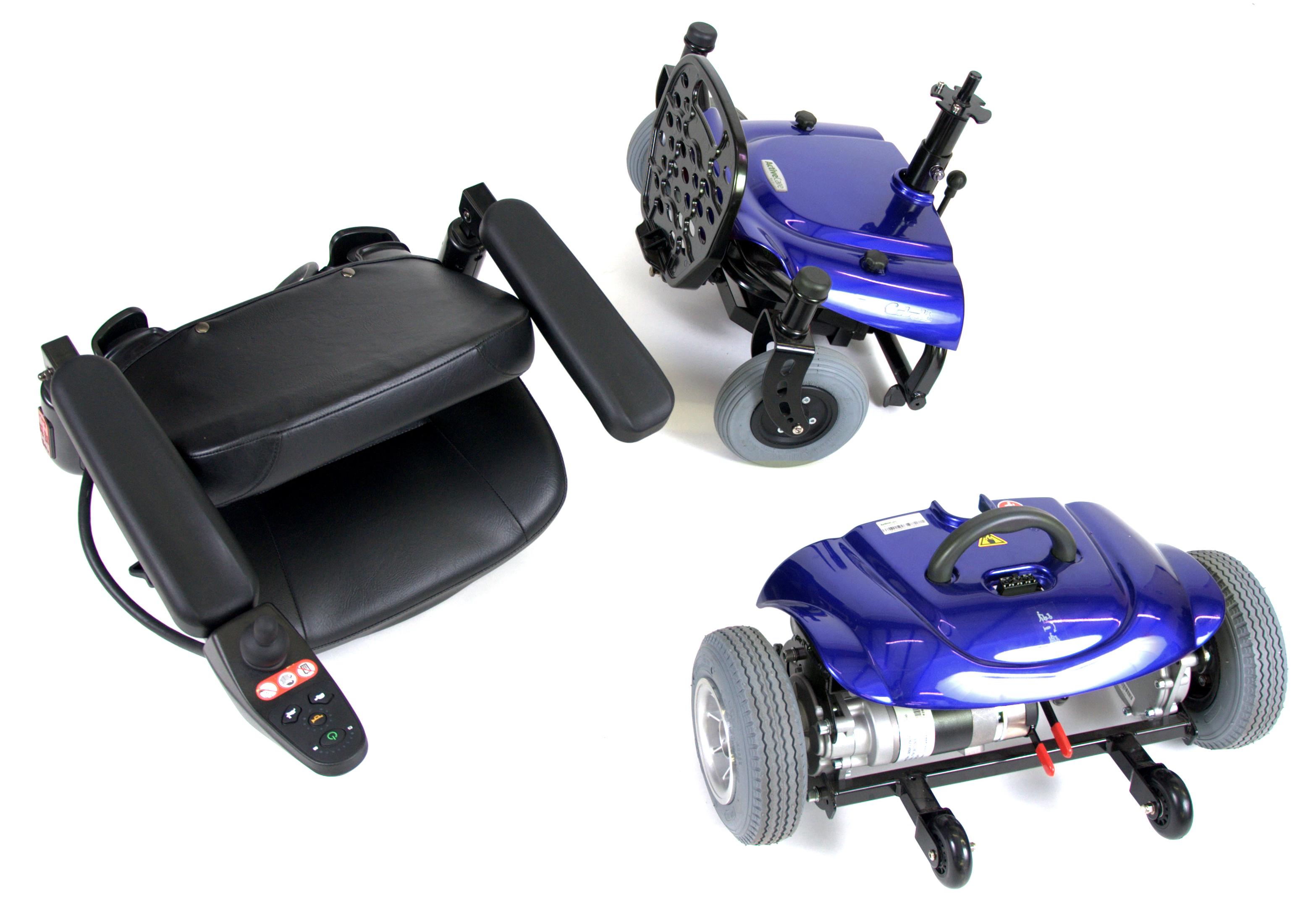 Cobalt X23 Power Wheelchair COBALTX23BL16FS Drive Medical