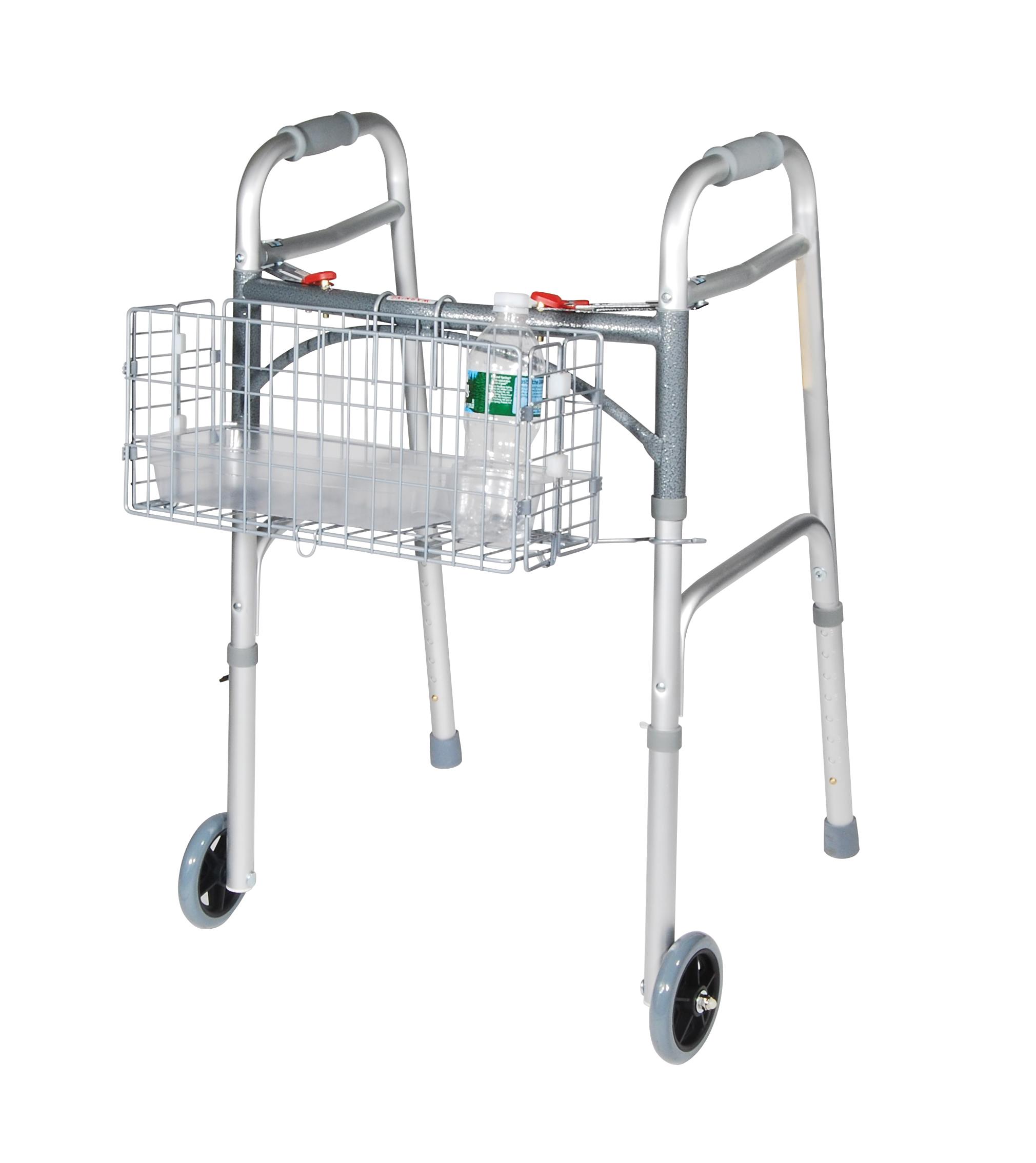 Folding Walker Basket Walker Baskets Rtl10200fb Drive Medical