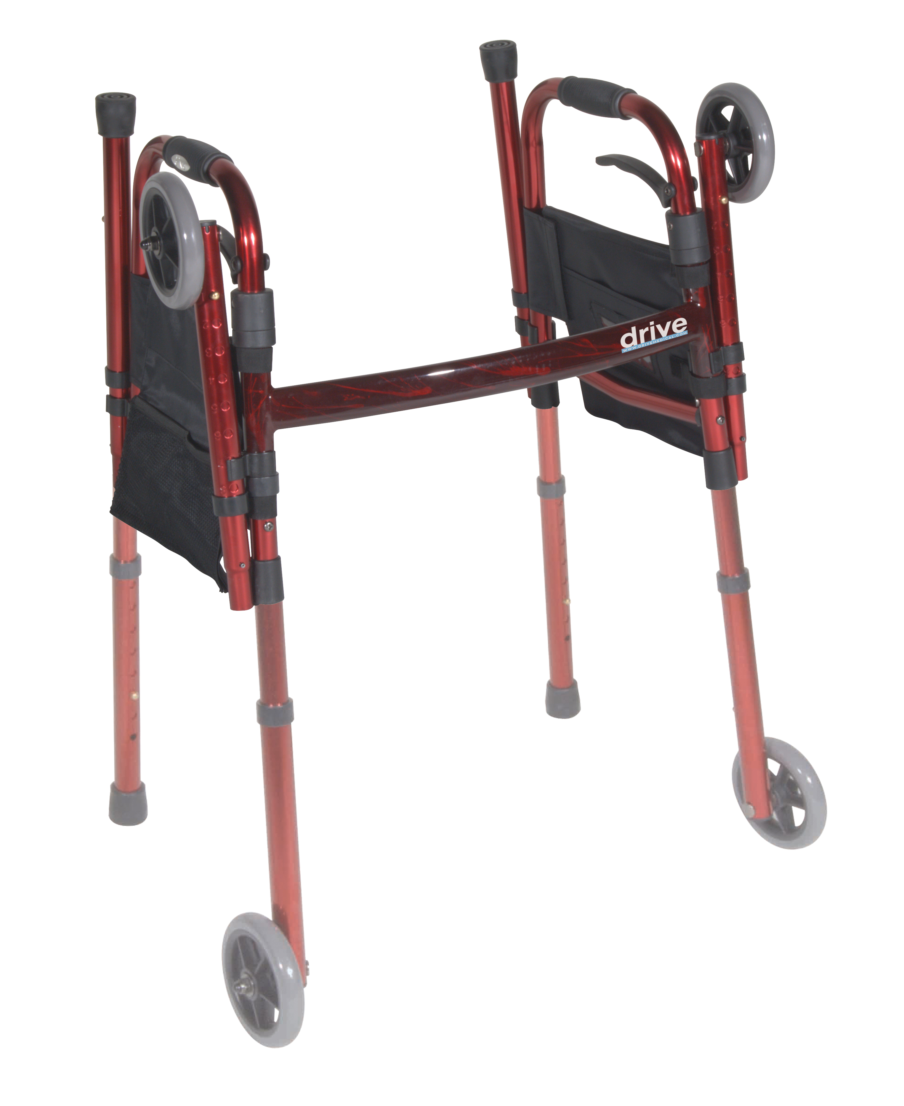 portable-folding-travel-walker-with-5-wheels-and-fold-up-legs-rtl10263kdr-drive-medical-5.jpg