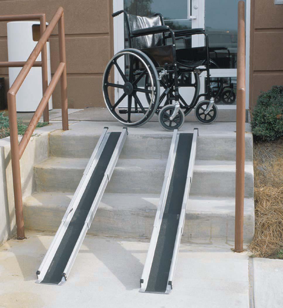 5 Telescoping Adjustable Wheelchair Ramps 517 4094 0000