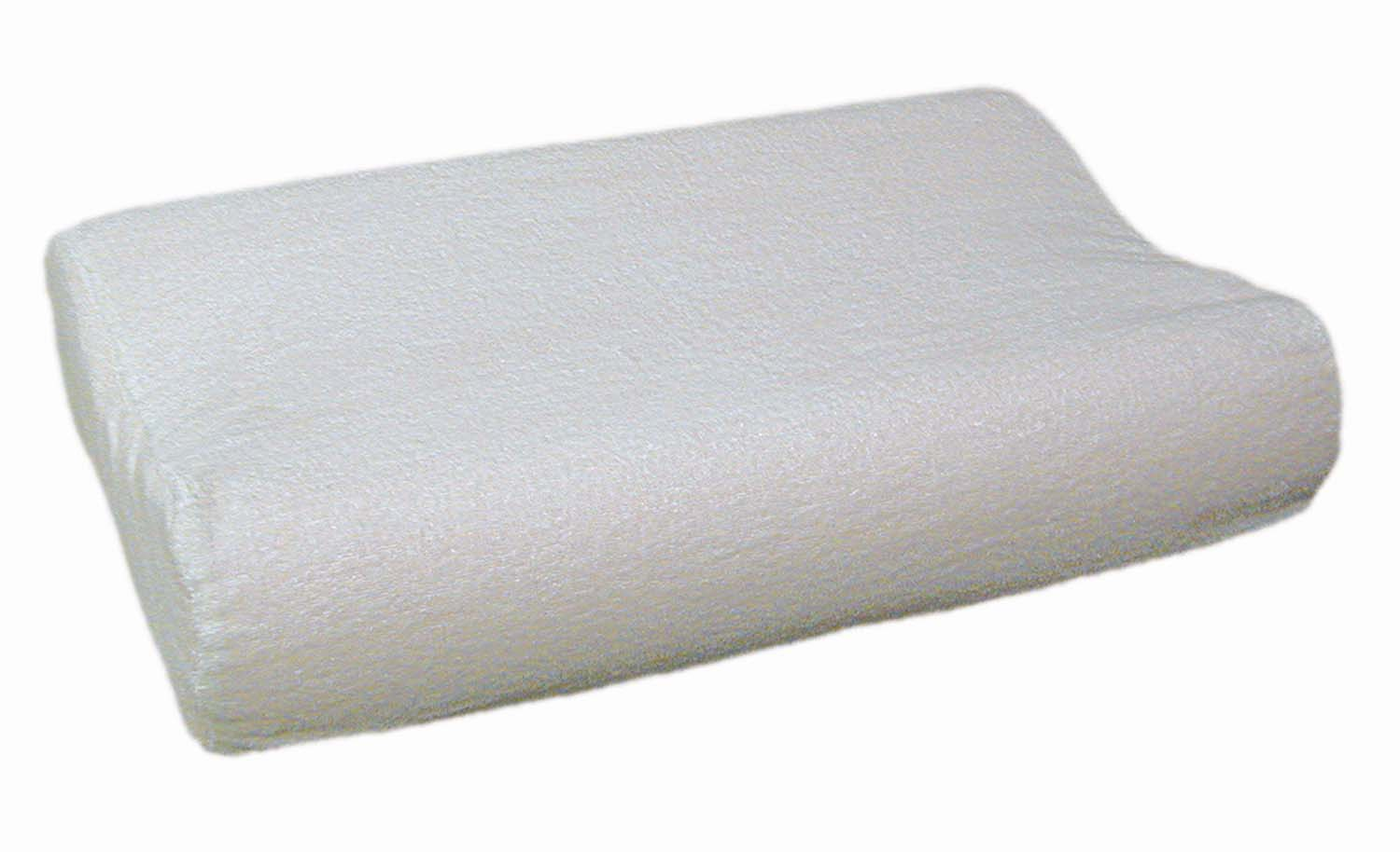 Foam Pillow Standard Size With Terry Cover Sp4a Contoured