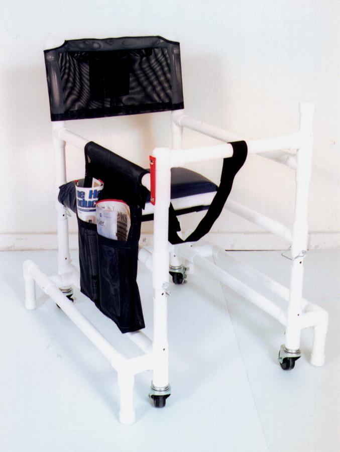 pvc walker chairs pvc walker chairs pvcm418or3 medline